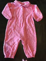 Baby Girl Gap 3-6 Month PJ Cotton Pink