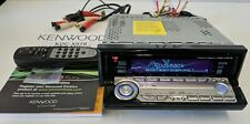 KENWOOD Excelon KDC-X979 CD HD SAT Radio w/Remote Flawless Face!! -Tested Fully-