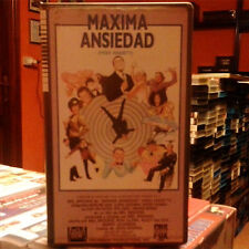 MAXIMA ANSIEDAD (Mel Brooks) VHS . Madeline Kahn Cloris Leachman Harvey Korman