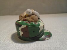 Charming Tails Sharing A Dream Of Peace 4020501 Camo Army USA Patriotic Mouse