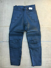 """J&S Mens Leather Motorcycle  Motorbike Trousers UK 30"""" to 31"""" waist   No115"""