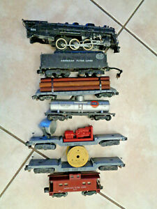 American Flyer S Gauge Near Complete 1953 #326 Hudson Freight Set To Restore