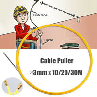 Cable Access Kit Installation Electricians Pull Rods Wire Fish Tape Cable 10-30M