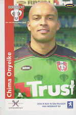 AUTOGRAMMKARTE / AUTOGRAPHCARD Chima Onyeike FC Dordrecht 2003/2004