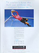 "Dollond & Aitchinsons ""Contact Lenses"" 1995 Magazine Advert #4047"