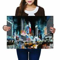 A2 - Times Square New York City Poster 59.4X42cm280gsm #2217
