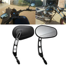 Hollow styling Side Mirrors For Harley Davidson 883 1200 Street Glide Softail US