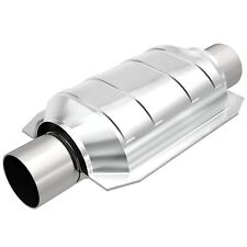 """MagnaFlow SS 2.25"""" IN/OUT CALIFORNIA CATALYTIC CONVERTER FOR UNIVERSAL #444005"""