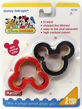 Vintage Playskool 1996 Disney Bebés Link-Ups Bebé Niño Juguete Mickey Mouse