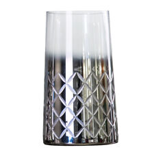 Modern Style Glass Cylinder Flower Vase Plants Hydroponic Pot Tabletop Decor