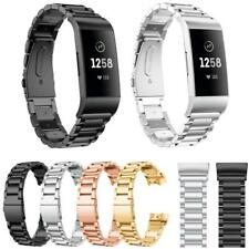 Replacement Link Metal Strap for Fitbit Charge 3 4 Secure Band metal Schnalle