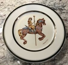 Willitts Designs 1987 Carousel Memories Le Collectors Plate by Mitchell Wu