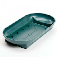 Dalton Bowl Green Plastic Smithers Oasis Floristry Dish Fits 1 Floral Foam Brick