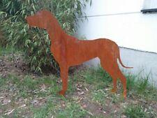 Gartendekoration Hund Edelrost Figuren Welpe Garten Deko Dekoration Draußen süß