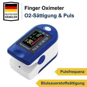 Pulsoximeter Finger Oximeter Sauerstoff Puls SpO2 Messgerät SpO-2 Pulsoxymeter