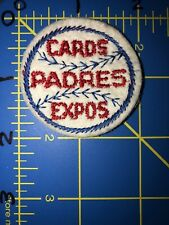 Vintage St. Louis Cardinals Cards San Diego Padres Montreal Expos Baseball Patch