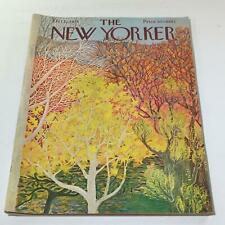 The New Yorker: October 22 1973 - Full Magazine/Theme Cover Ilonka Karasz