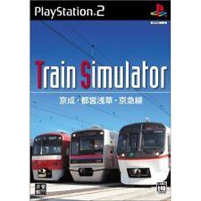 Used PS2 Train Simulator Keisei, Toei Asakusa, Keikyu Line Japan Import