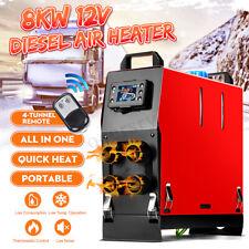 8KW 12V 4Löcher Einfach Integration Diesel Standheizung all in1 Luftheizung LKW