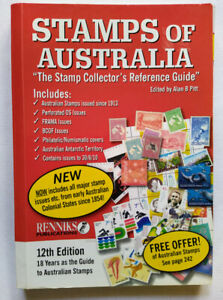 Stamps of Australia, 12th edition, Renniks, Stamp Collector's Reference Guide