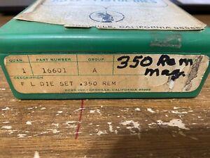 RCBS .350 Remington Reloading Dies Full Length die set