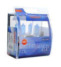 Coppia Lampade Lampadine PowerTec H8 35W 12v XENON BLUE Effetto Xeno ALOGENE