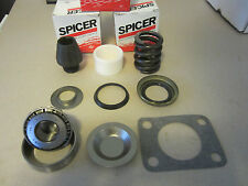 Dana 60 King Pin Rebuild Kit Chevy Ford Dodge Bearing,Bushing,Spring,Seal