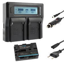 Akku für Sony NP-FM500H + Dual Ladegerät Charger für Sony FM500H | 65167 | 90302