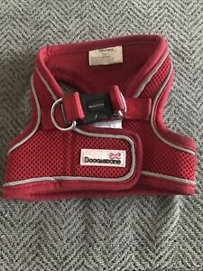 Doodlebone Red Puppy Dog Harness Small