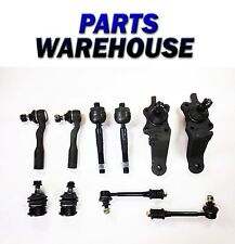 10 Pc Kit Ball Joint Tie Rod End Sway Bar For Toyota Tundra 01-02 1 Yr Warranty