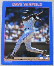 Dave Winfield Signed 16x20 Starline 1988 Poster/Photo/New York Yankees/JSA COA