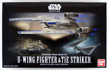 Bandai Star Wars U-Wing Fighter & Tie Striker 1/144 Model Kit 121848 USA Seller