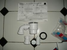 BRAND NEW SHOWER TRAP AND PIPING PLUMBING PARTS BATHROOM HOUSEHOLD 85MM X 50MM