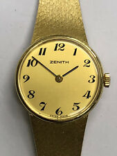 Orologio ZENITH da donna  in oro 750 18 kt vintage anni 50 Suisse Made