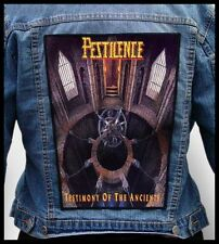 PESTILENCE - Testimony of the Ancients  --- Giant Backpatch Back Patch