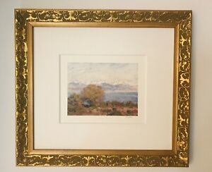 Color Litho Giclee By Claude Monet -The Alpes (seen from cap Dantibes)
