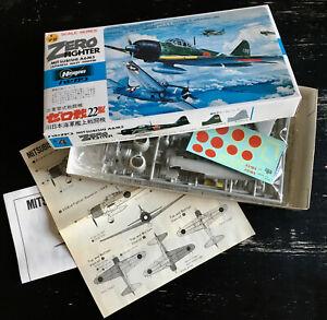 HASEGAWA 1/72 - MITSUBISHI A6M3 ZERO - JAPAN 1980 - NEUF