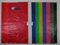 """200 Qty. High Density Bags 12"""" x 3"""" x 18"""" Variety of Colors Merchandise Retail"""