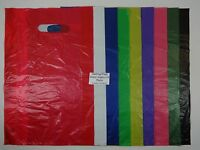 "100 Qty. High Density Bags 12"" x 3"" x 18"" Variety of Colors Merchandise Retail"