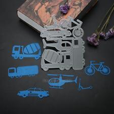 Car Airplane Cutting Dies Stencil DIY Scrapbooking Photo Album Paper Card Craft
