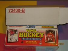 1990 Score NHL Hockey Premier Edition Bilingual Collector Set Factory Sealed 445