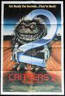 CRITTERS 2 Original One sheet Movie Poster Scott Grimes Liane Curtis Horror