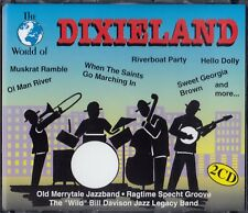 THE WORLD OF DIXIELAND / 2 CD-SET - NEU
