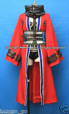 Final Fantasy X Auron Female Version Cosplay Costume Size M