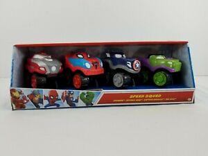 Herodrive Marvel Super Hero Adventures Speed Squad Cars Toys Comic Book Heroes