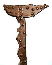 Art Africain - Très Ancienne Canne Lobi Ornée de Clous - Old Walking Stick +++++