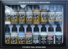 USAAF WWII Aircraft Colors 1941-45: 16 Airbrush Paint Set (Vallejo 71185)