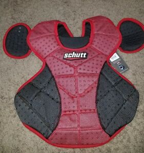 Burnt Orange Schutt Sports Scorpion 2.0 Catchers Chest Protector 12