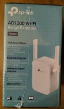 WIFI RANGE EXTENDER DUAL BAND TP-LINK 867Mbps ETHERNET RE305 AC1200 (NEW in BOX)