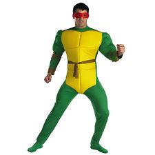 Adult TMNT Teenage Mutant Ninja Turtles Raphael Classic Muscle Turtle Costume